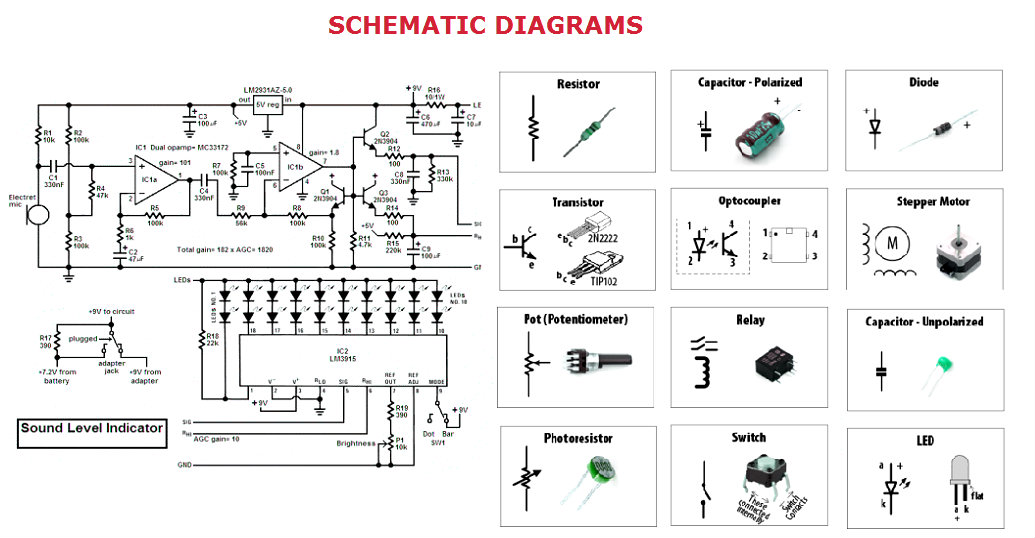 schematic diagrams